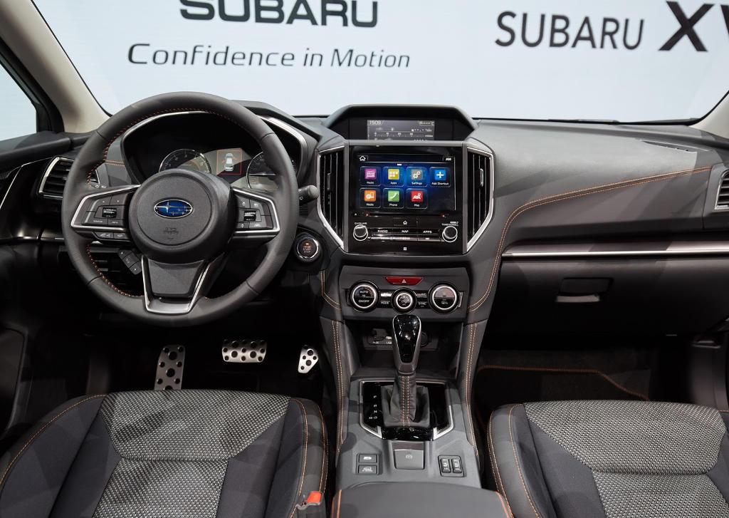 салон Subaru XV 2018 в России