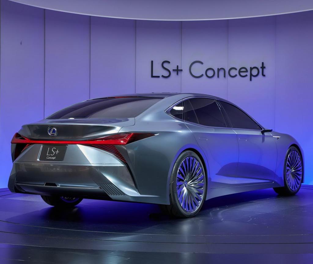 задние фонари Lexus LS+ 2017