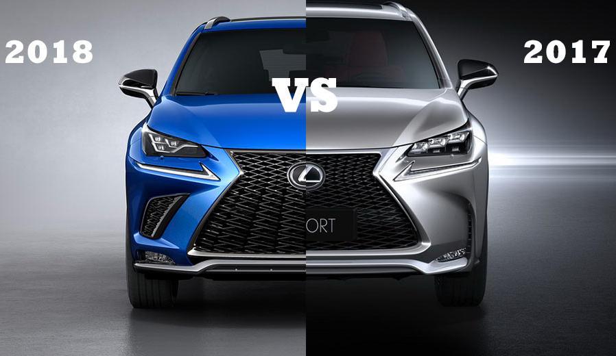 Lexus NX 2018 изменение