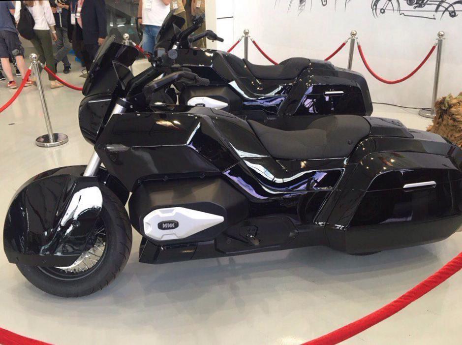 Мотоцикл Проекта Кортеж 2017
