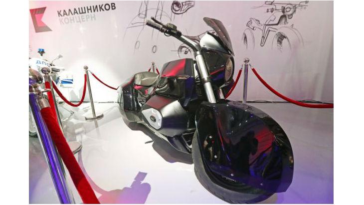 Тяжелый мотоцикл Проекта Кортеж 2018