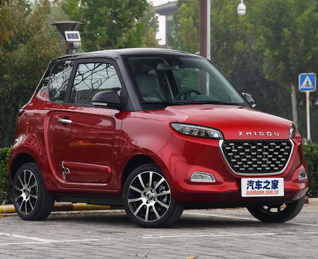 Фото электромобиля Zhidou D3. http://autompv.ru/