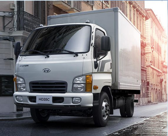 грузовик Hyundai HD35 City в России