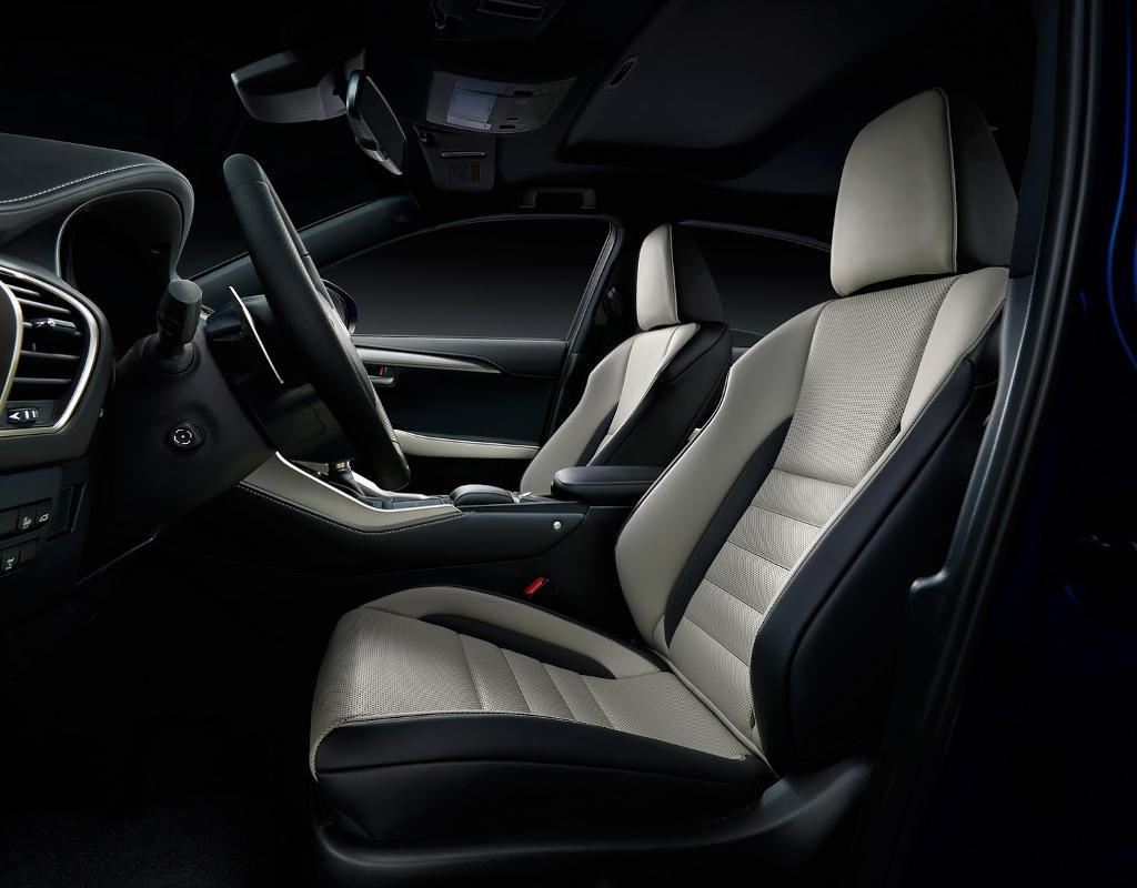интерьер Lexus NX 2018 в России