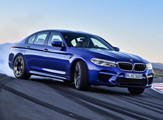 новый BMW M5 2018 фото