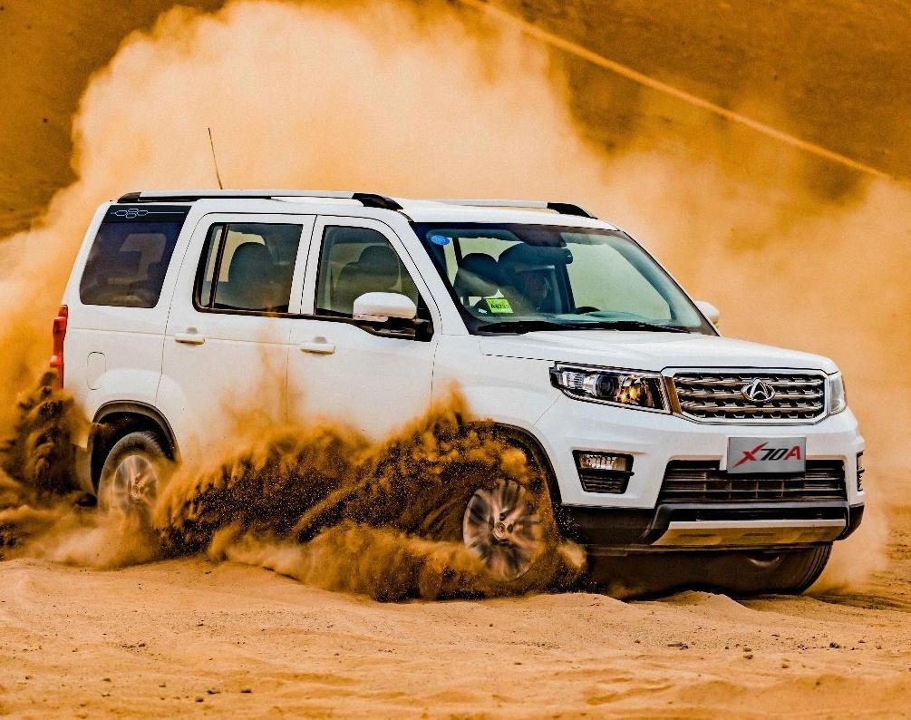 Китайцы соединили Land Rover и Toyota