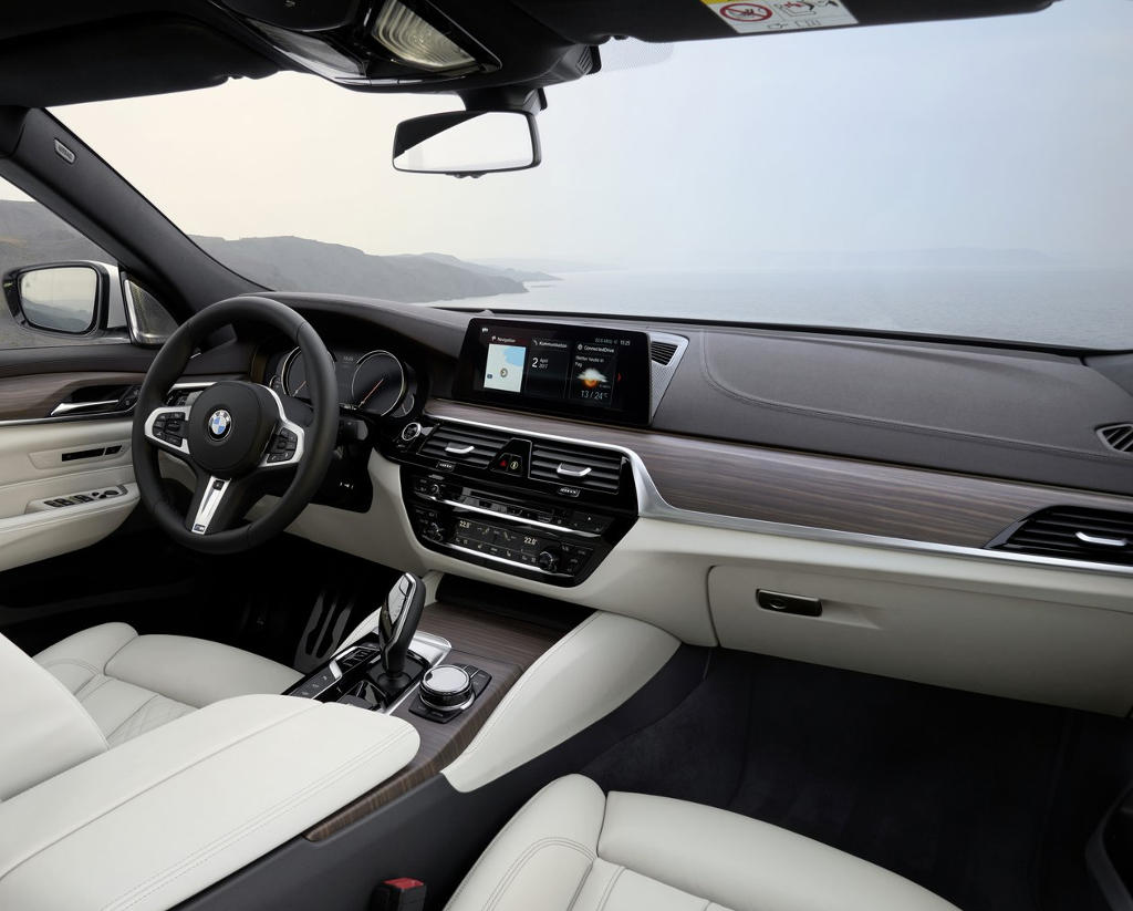 салон BMW 6-Series Gran Turismo 2018