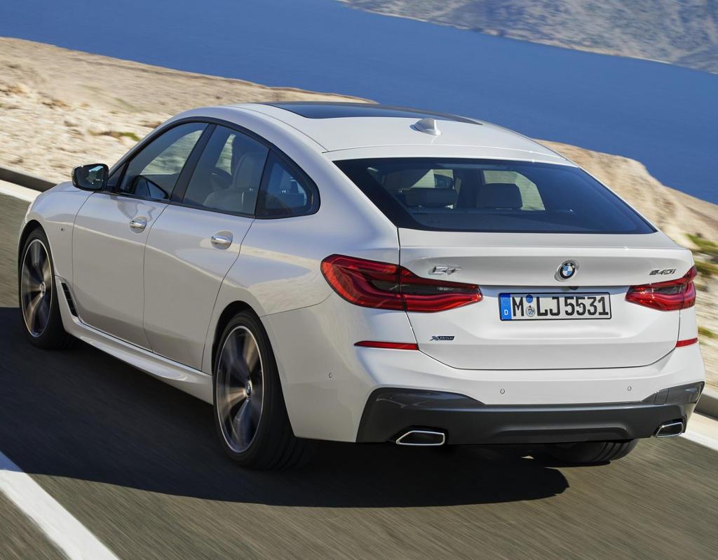 задние фонари BMW 6-Серии GT 2018