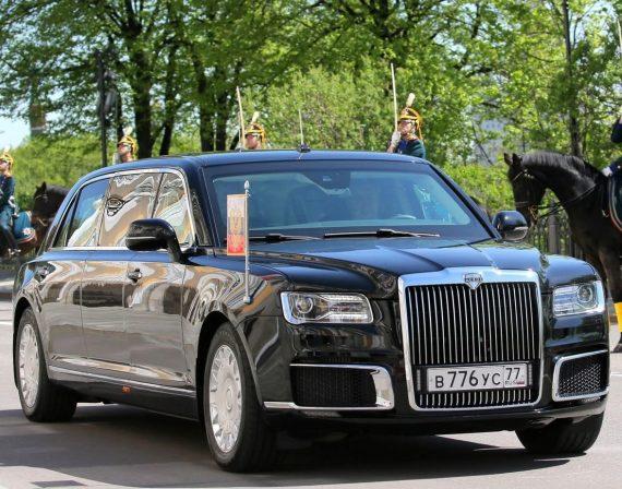 Лимузин президента ЕМП-41231SB Aurus фото 2018