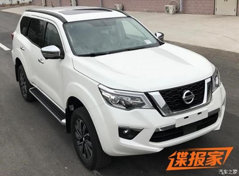 Nissan Terra в России