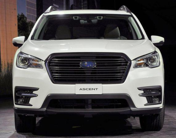 фары, решетка, бампер Subaru Ascent 2018 — 2019
