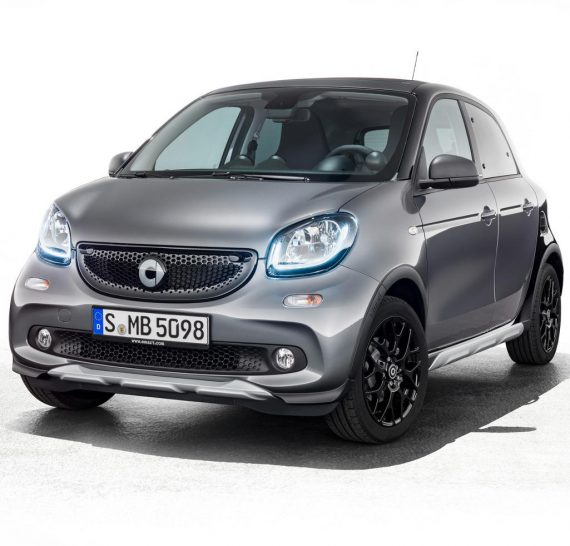 новый Smart Forfour Crosstown 2018 в России