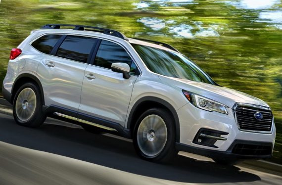 новый Subaru Ascent 2018 — 2019 сбоку