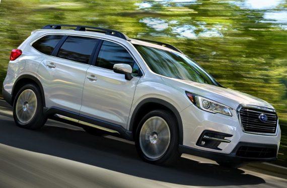 новый Subaru Ascent 2018 — 2019 сбоку
