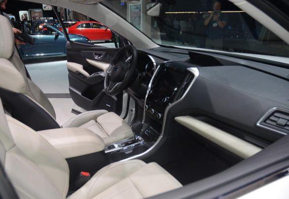 салон Subaru Ascent 2018 — 2019