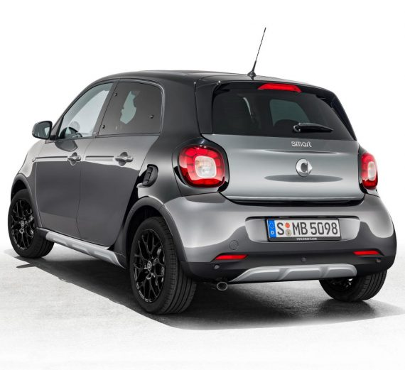 задние фонари Smart Forfour Crosstown 2018