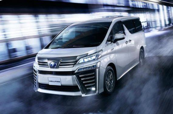 фото Toyota Vellfire 2020-2021 года