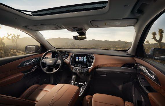 салон Chevrolet Traverse 2018 фото