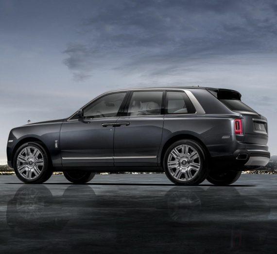Rolls-Royce Cullinan 2018 – 2019 сбоку