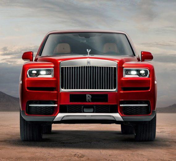 фары, бампер Rolls-Royce Cullinan 2018 – 2019