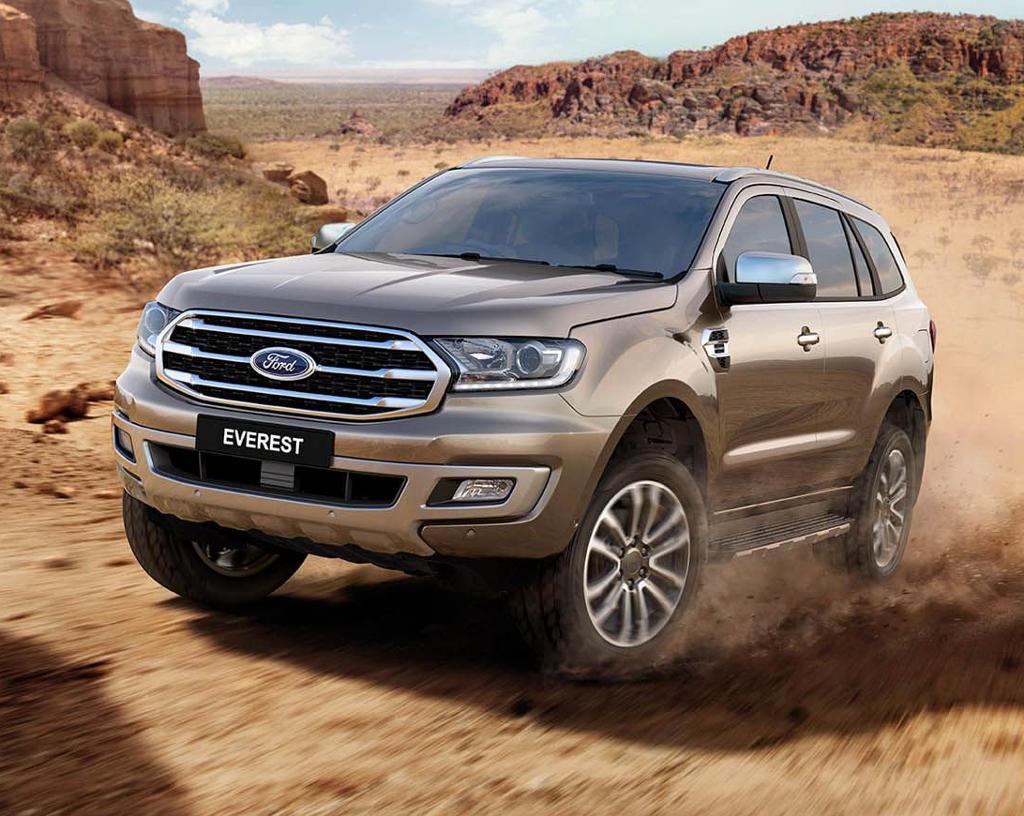 фары, решетка Ford Everest 2019