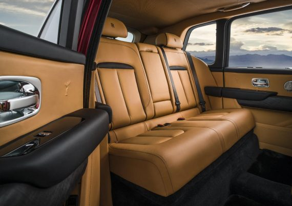 интерьер Rolls-Royce Cullinan 2018 – 2019
