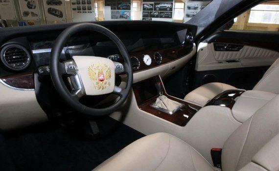 салон Лимузин президента ЕМП-41231SB Aurus фото