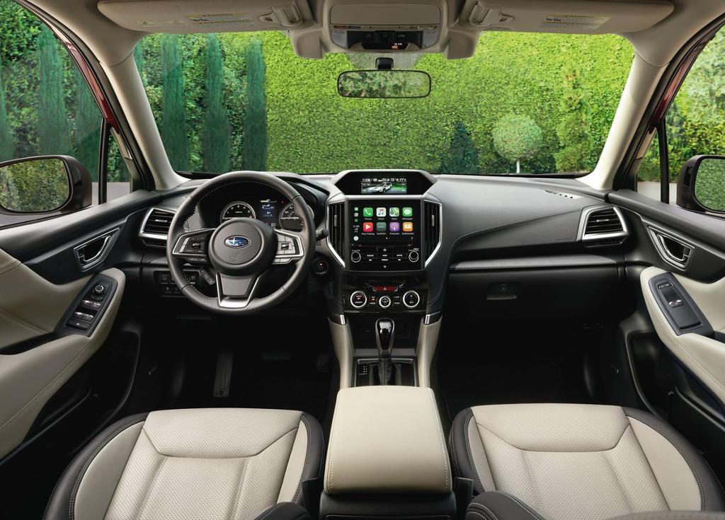 салон Subaru Forester 2021 фото