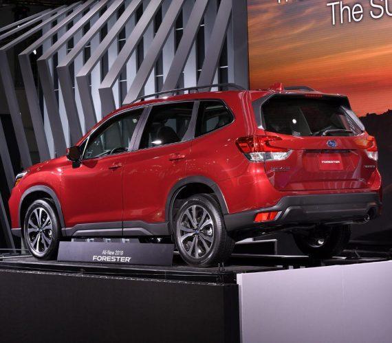 задние фары Subaru Forester 2020 года