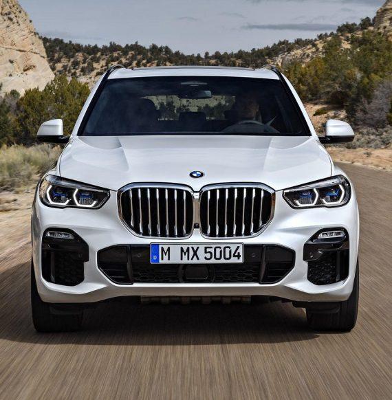 фары, бампер, решетка BMW X5 2019