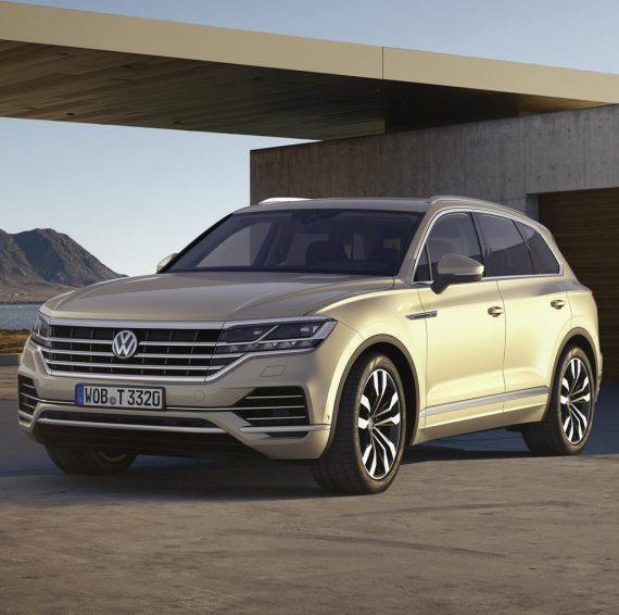 Новый Volkswagen Touareg 2018—2019 в России (цена, фото, видео)