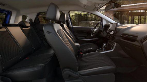 интерьер Ford EcoSport 2018–2019