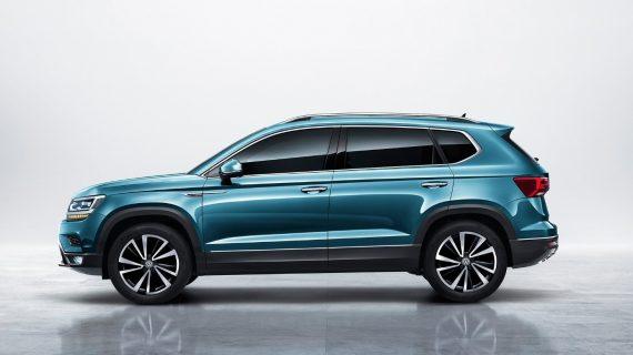 новый Volkswagen Tharu 2019 – 2020 сбоку