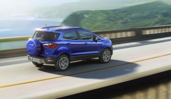 задняя часть Форд Экоспорт 2018–2019