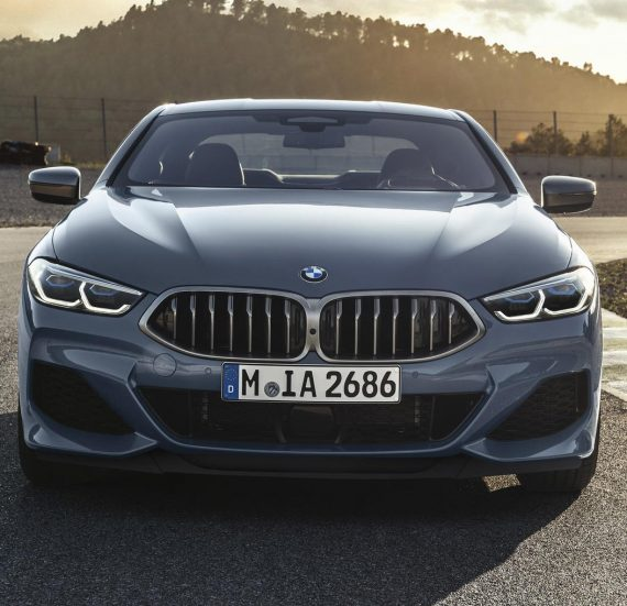 фары, решетка, бампер BMW 8-Серии 2019