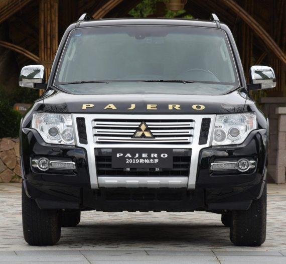 фары, решетка, бампер Mitsubishi Pajero 2018 – 2019