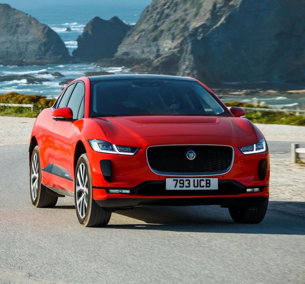 Электрический Jaguar I-Pace