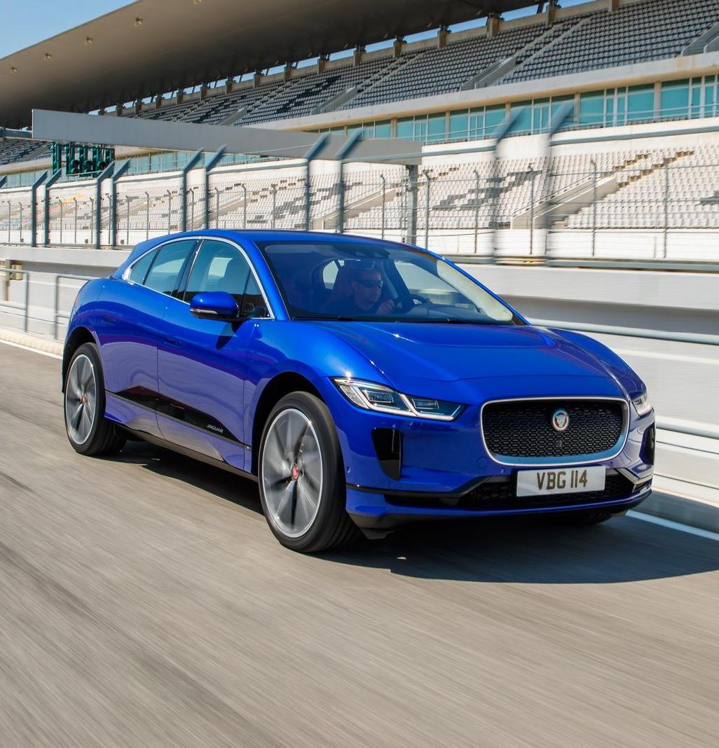фары, решетка, бампер Jaguar I-Pace