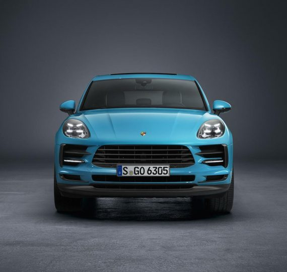 фары, решетка, бампер Porsche Macan 2019
