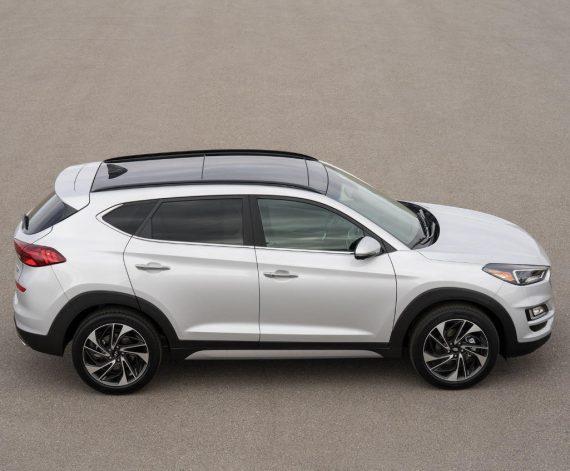 фото Hyundai Tucson 2018 – 2019 сбоку
