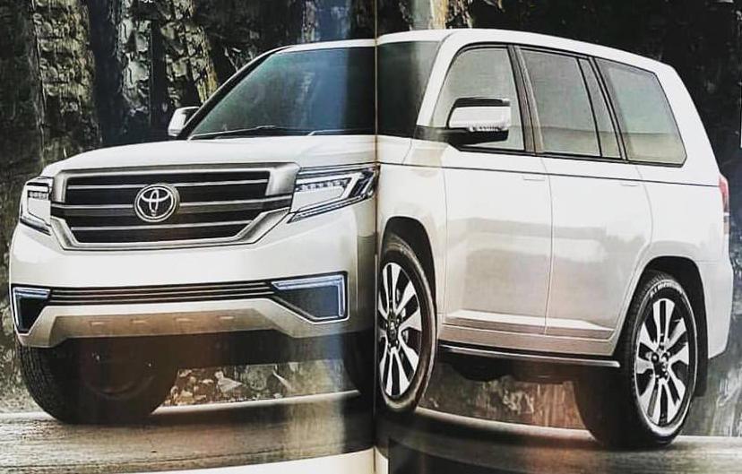f8dd7a884985 Новый Toyota Land Cruiser 300 выйдет в 2020 году. Информация об ...