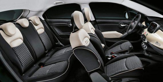 интерьер Fiat 500X 2019