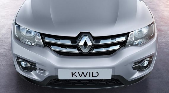 решетка, фары, бампер Renault Kwid 2019