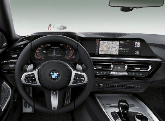 салон BMW Z4 2019