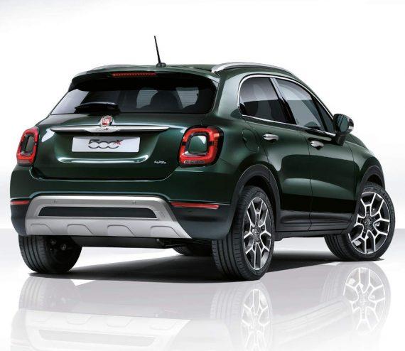 задние фонари нового Fiat 500X 2019