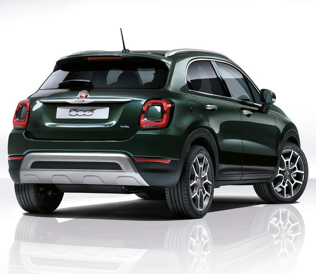 Новый Fiat 500X 2019: цена, характеристики и фото, комплектации картинки