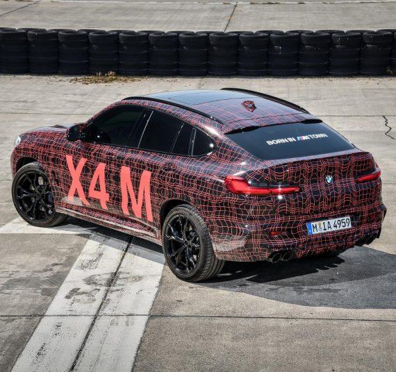 BMW X4 M 2019 задняя часть
