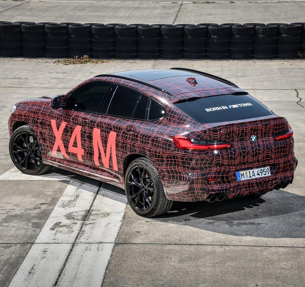Новые «заряженные» BMW X3 M и X4 M 2019 (фото, технические