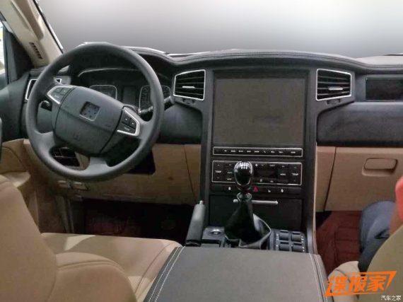 Китайский Toyota Land Cruiser 200 салон фото