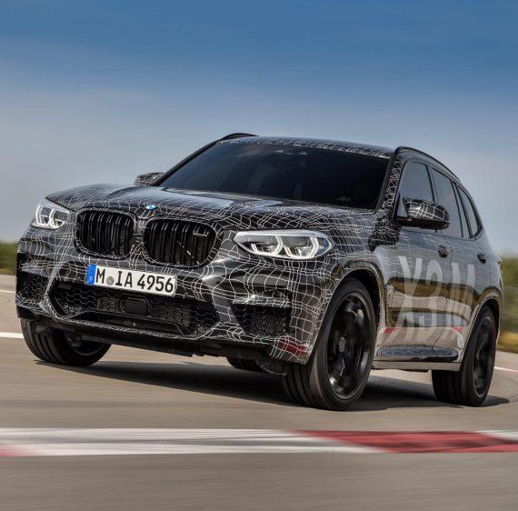 Новые BMW X3 M 2019 фото
